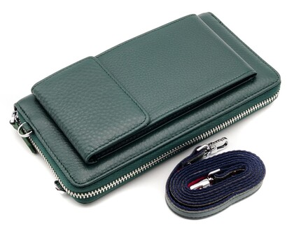 GENUINE LEATHER 3115-4 GREEN-9