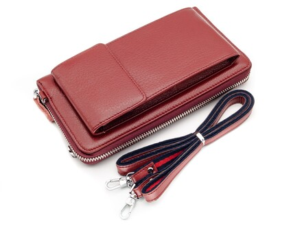 GENUINE LEATHER 3115B-3 D RED-2